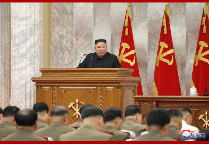 金正恩主持朝鲜中央军委扩大会议:讨论诸多议题 签署多项命令