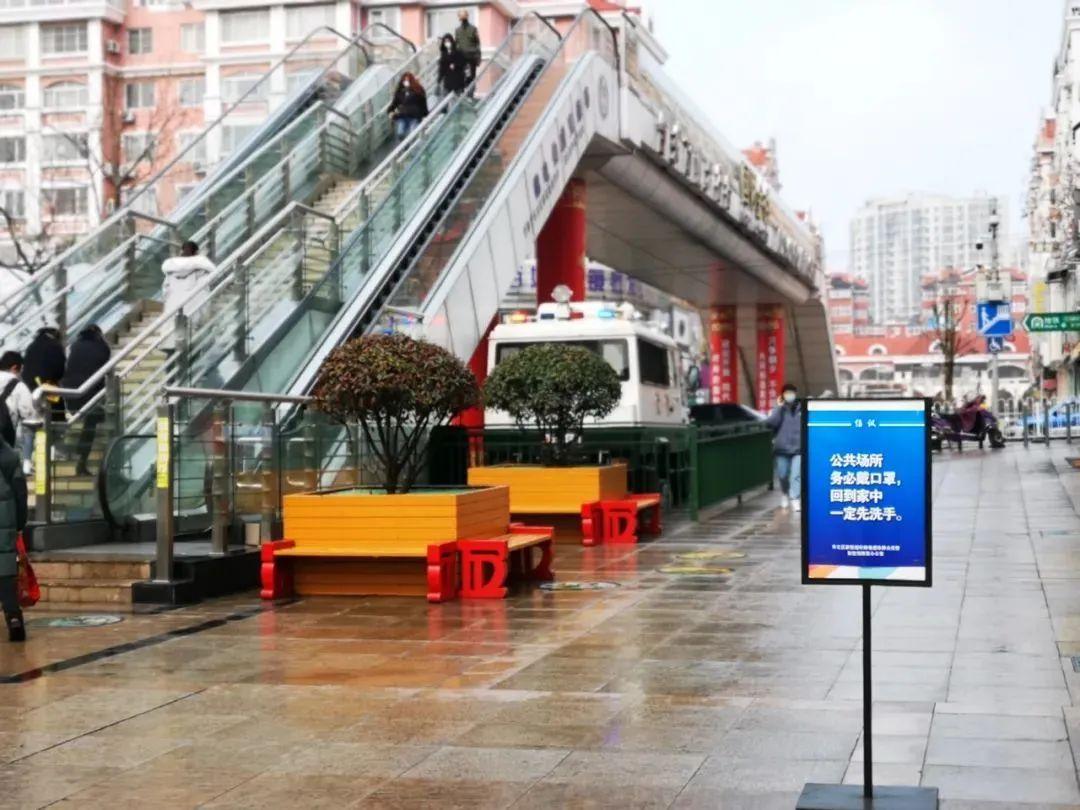 台东步行街一角