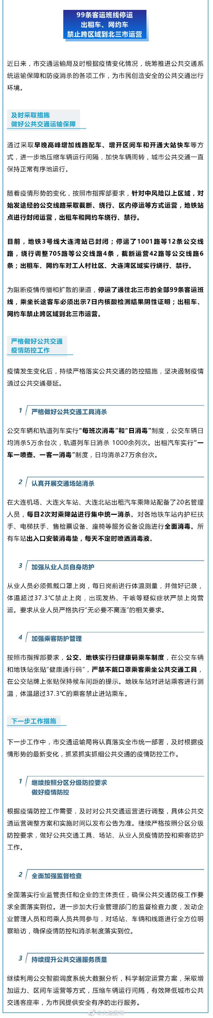 【河北企划行业交流平台】_大连:99条客运班线停运 中风险以上区域出租车、网约车禁行