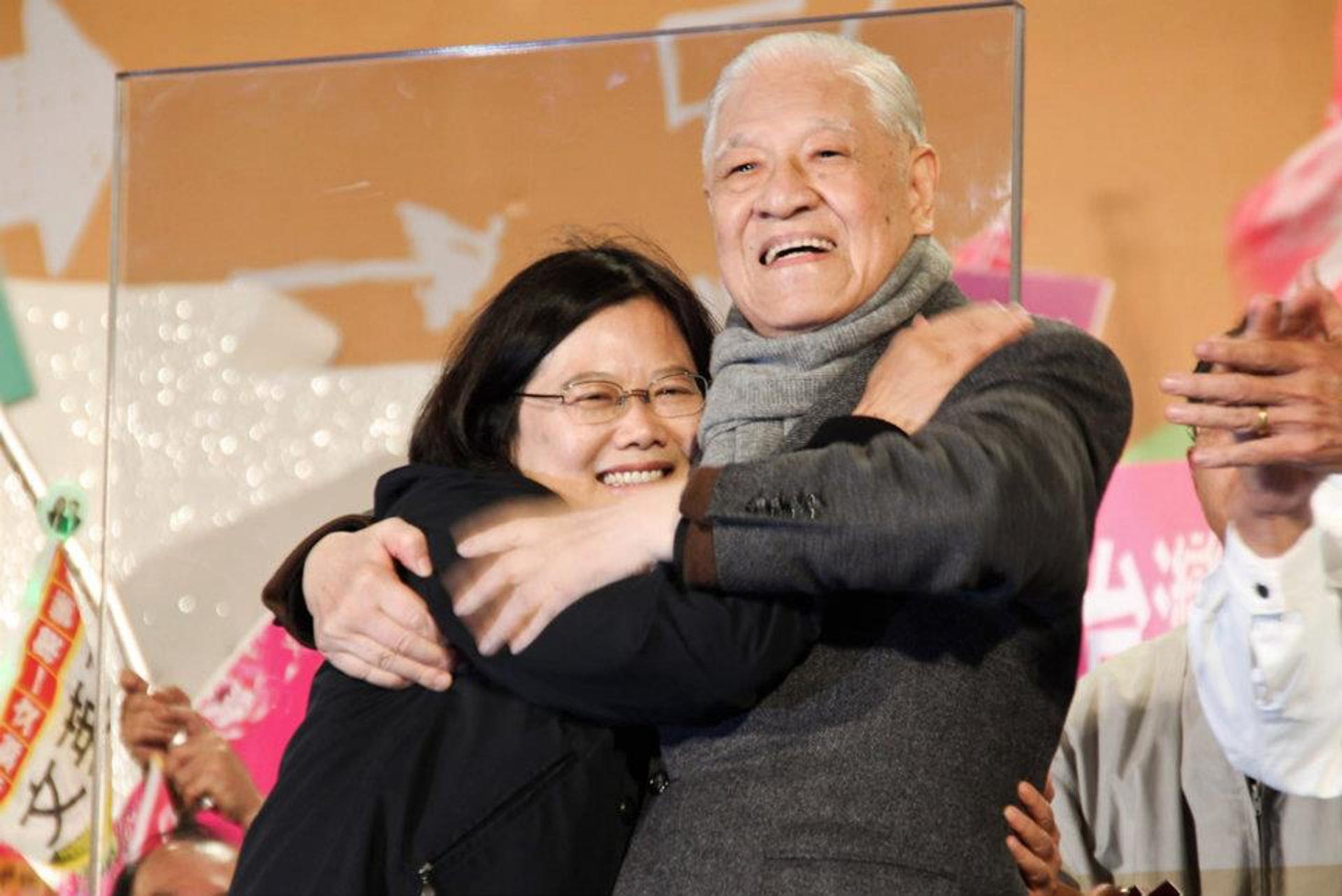 李登辉病亡,蔡英文:他的离世是台湾的莫大损失