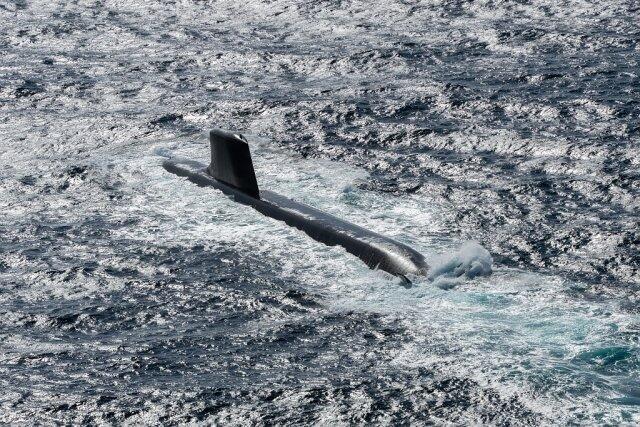 """法""""梭鱼""""级核潜艇测试进入新阶段 10年内服役6艘"""