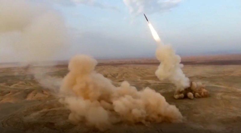 伊朗公开地下发射弹道导弹画面