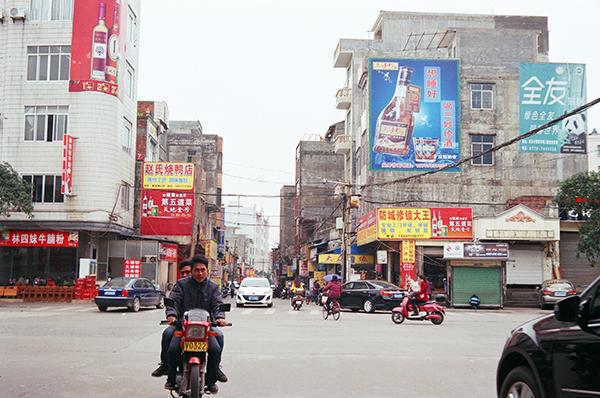 余沛生活的广西小镇 本文图片除特殊标注外,均为受访者供图