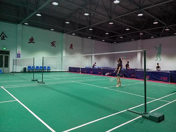 杜依苓童年的发电厂家属区,有企业体育馆。