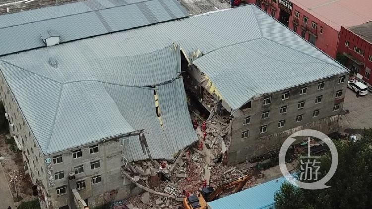 【achain】_哈尔滨仓库坍塌被困9人全部遇难 2017年曾翻修后加盖两层