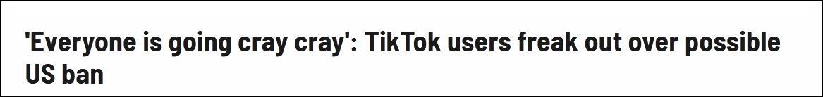 """【雅虎优化】_特朗普要封禁TikTok,美国年轻人""""揭竿而起"""""""