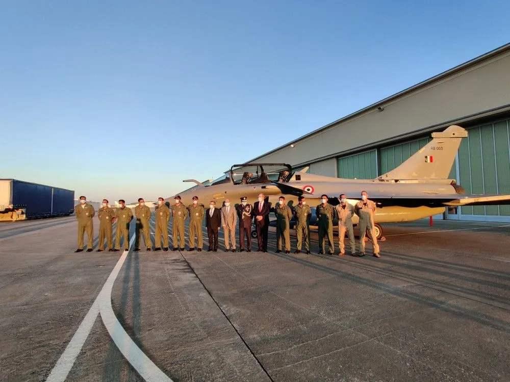 """印媒吹嘘印军列装""""阵风""""战机将获得对中巴战略优势"""