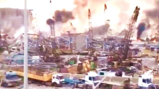 实拍黎巴嫩首都爆炸后惨象 目击者:到处是伤者 如世界末日