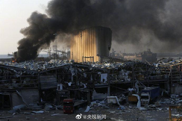 黎巴嫩首都贝鲁特港口爆炸已致135死5000伤