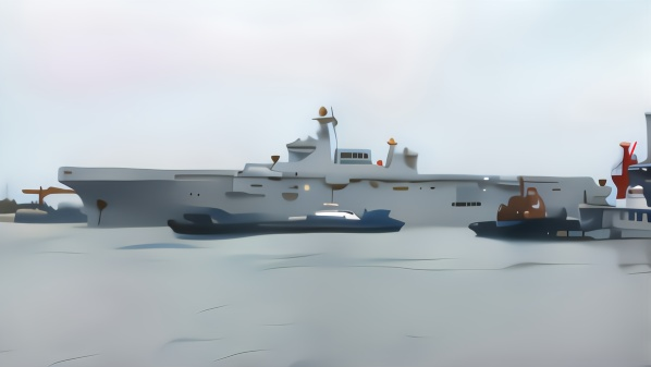 中国首艘075型两栖攻击舰进行首次海试