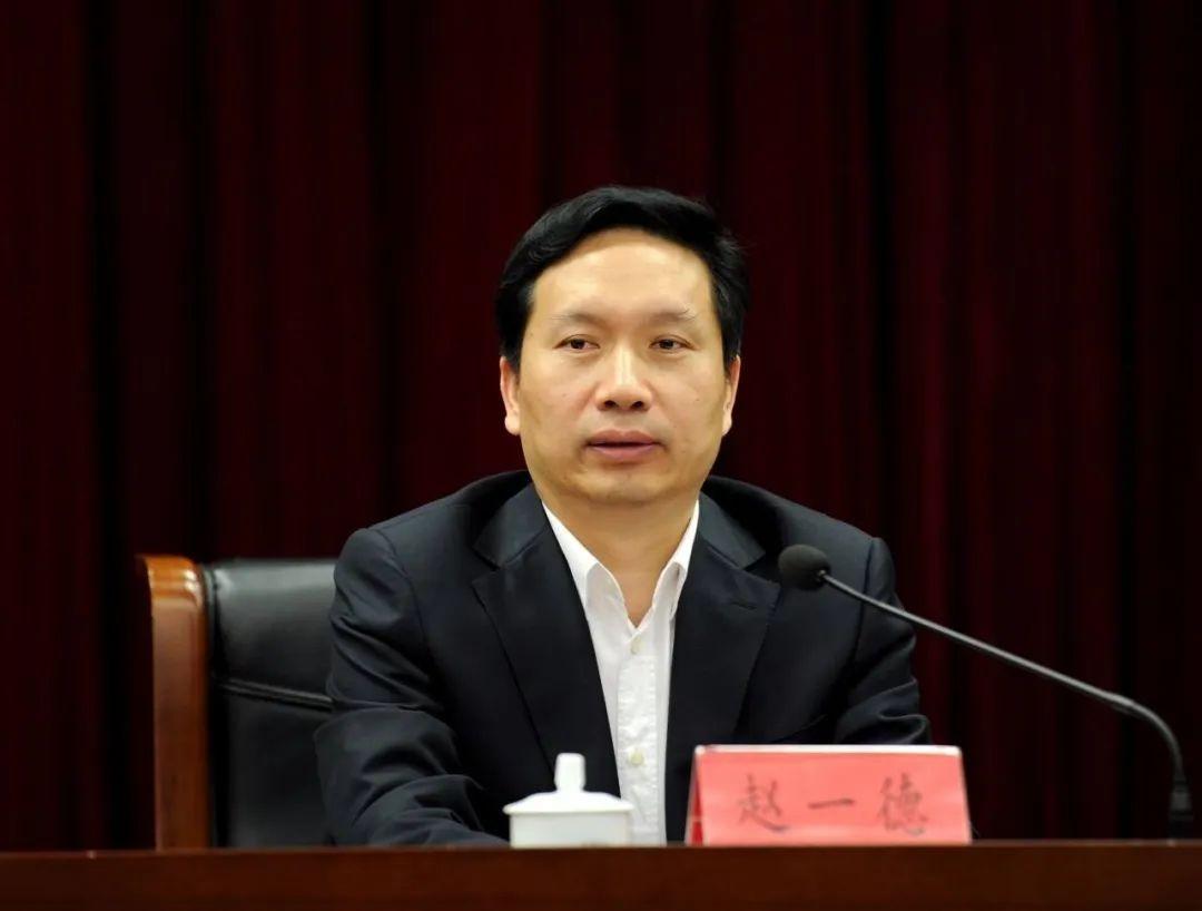 赵一德任陕西省代省长