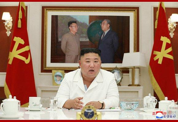 【日bi】_朝媒首次报道政务局会议,金正恩指示向全面封城的开城供粮