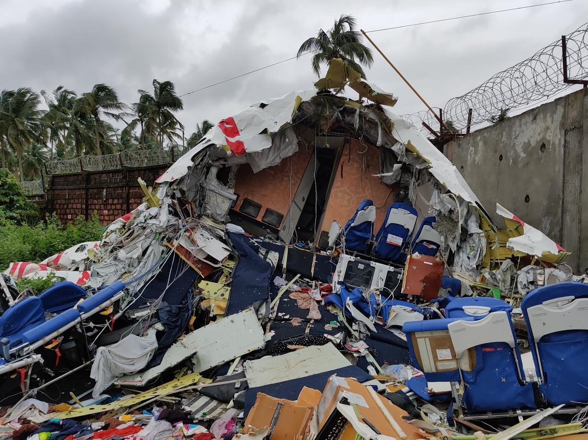 印度载191人航班降落时冲出跑道:已致19人遇难 飞行记录仪已被找到