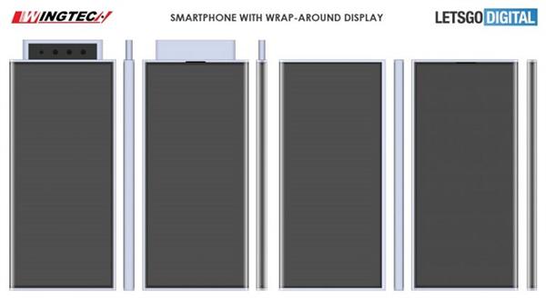 小米全新环绕屏专利曝光:弹出式摄像头 机身都是屏幕