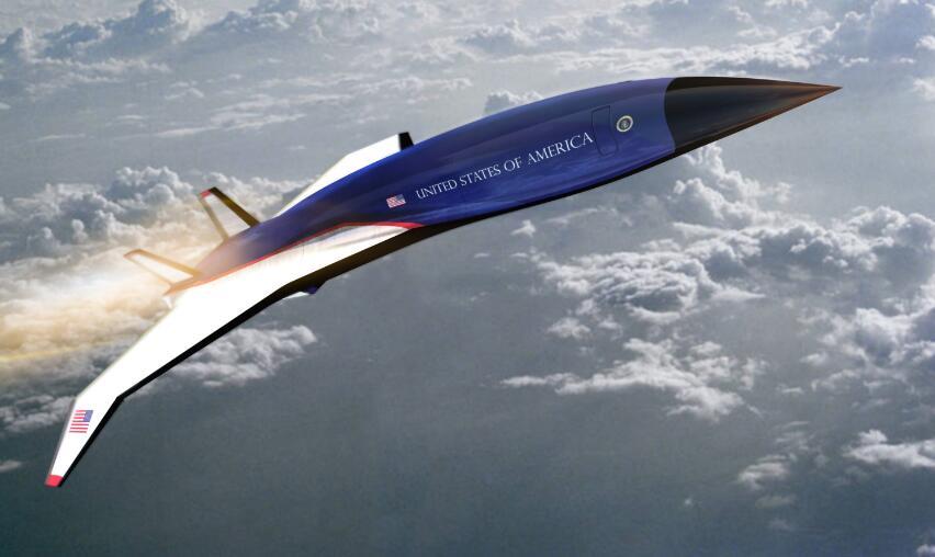 美军打造高超音速飞机 从纽约到伦敦只要1个半小时