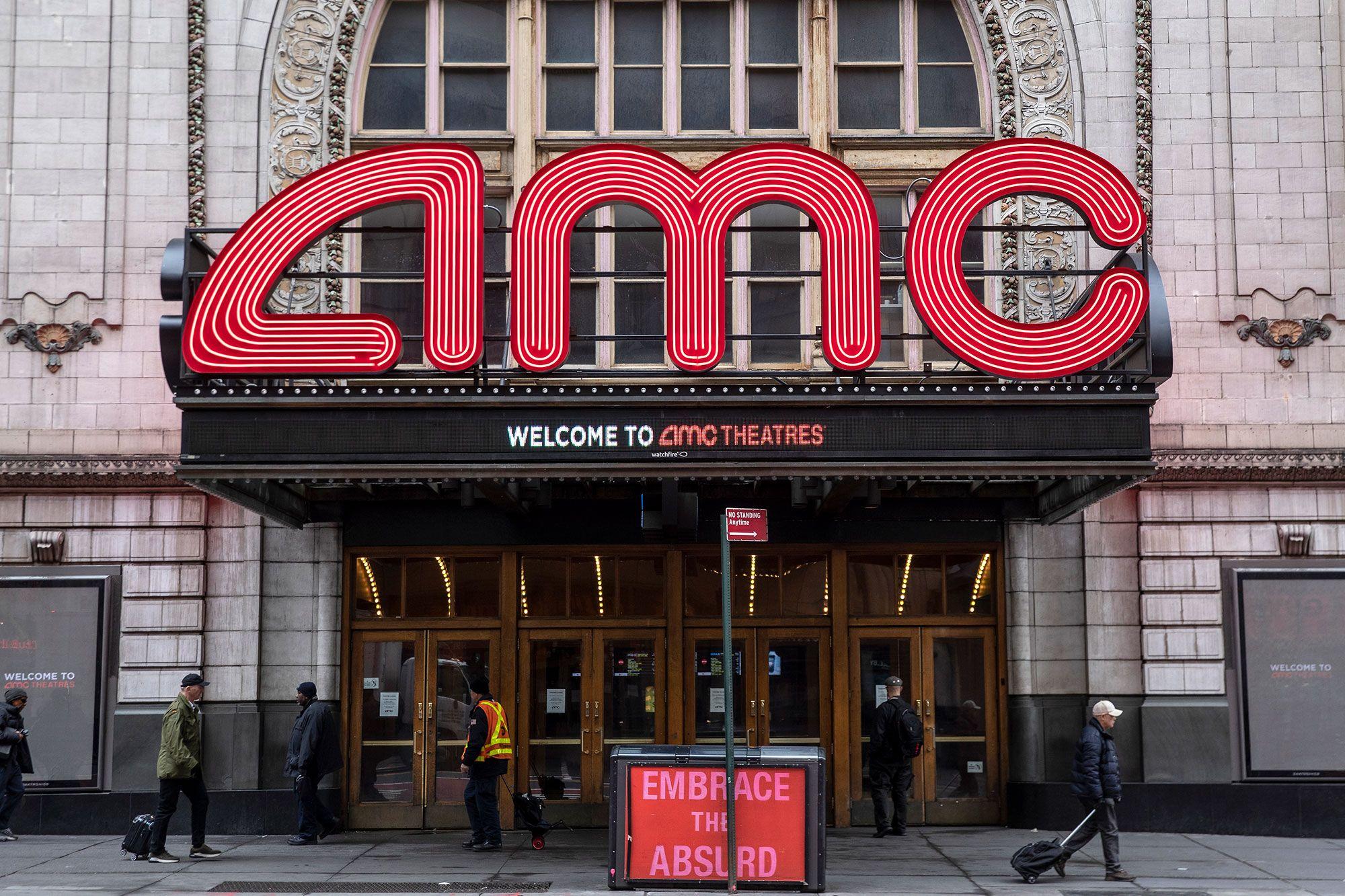 美国AMC影院宣布8月20日重启,当天15美分看电影