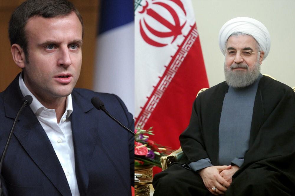 【云布龙】_马克龙与鲁哈尼通话,警告伊朗不要介入黎巴嫩问题