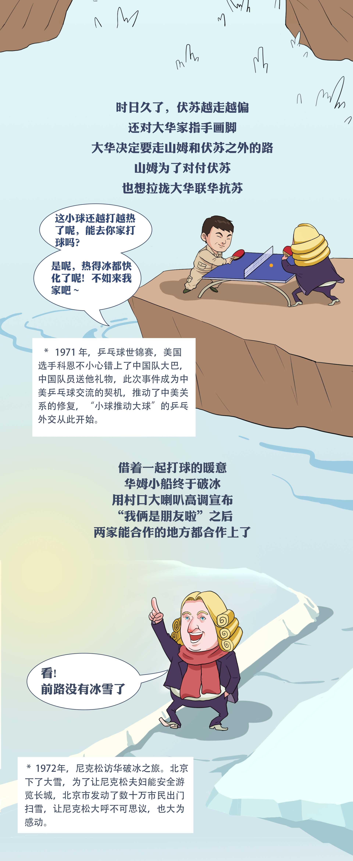 中美关系:从一艘大船开始,像大船一样颠簸|大鱼漫画