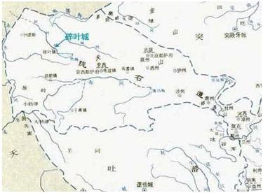 〓 有争议的李白出生地西域碎叶城