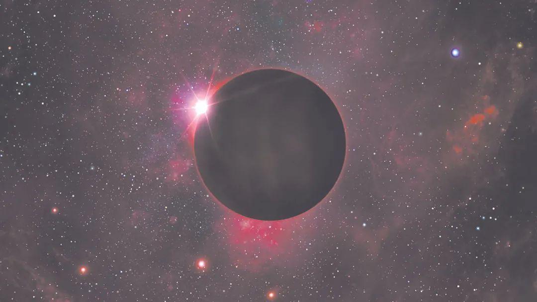 艺术家对黑矮星的印象图。图片来源:MARK GARLICK