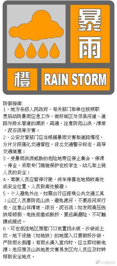 【徐静蕾博客】_北京发布暴雨橙色预警信号