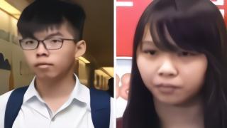 黄之锋号召给周庭捐钱,香港网友:下一个进去的就是你