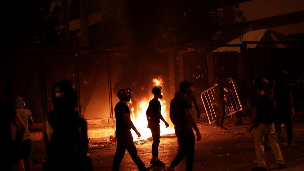 【程雪柔公交车优化技术】_抗议持续!设革命总部被驱散后,黎巴嫩示威者又想冲进议会大楼