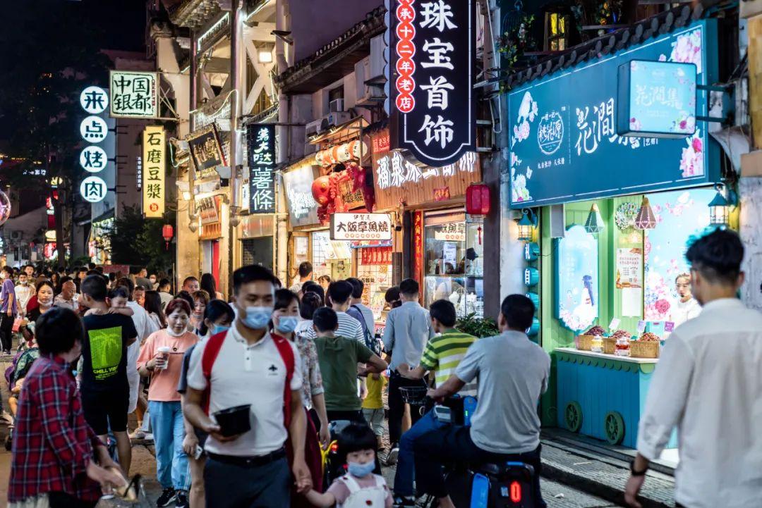▲ 长沙夜经济。图 / 视觉中国