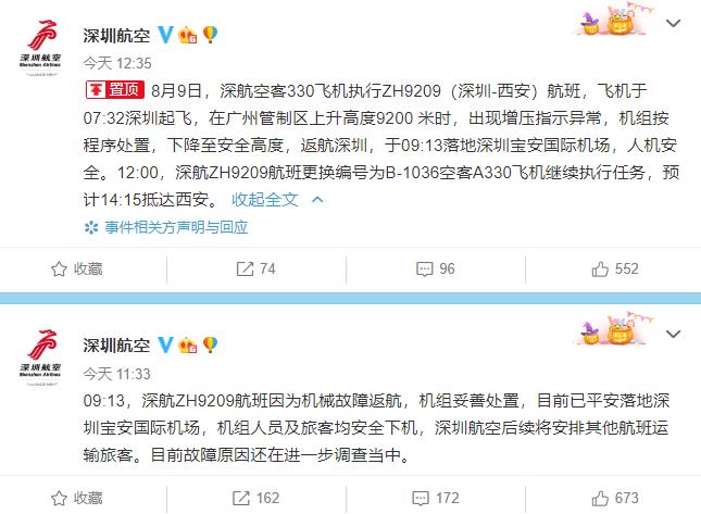 【fcoin】_深圳航空通报航班故障原因