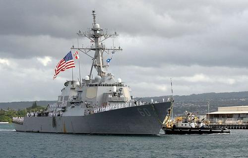 美媒曝美国政府下一步:让军舰在台湾港口停靠或派军官访台