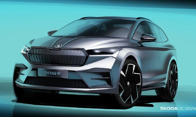不寻常,斯柯达先于大众推出MEB平台纯电SUV