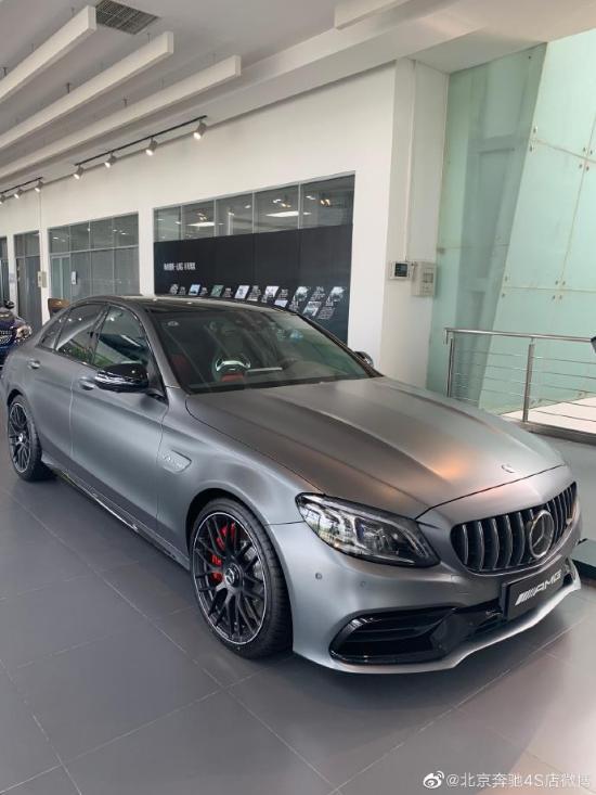 奔驰C63多少钱2019款AMG级C63S最新报价