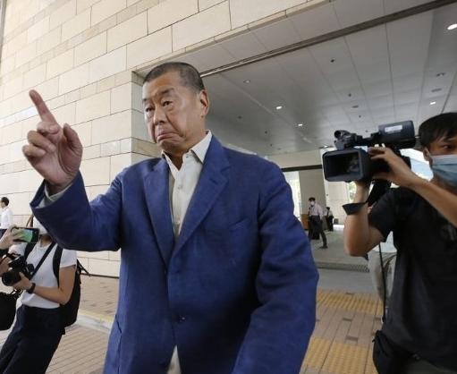 【百度网站提交】_黎智英刑恐记者案法庭裁定表证成立 罪成最高可判2年