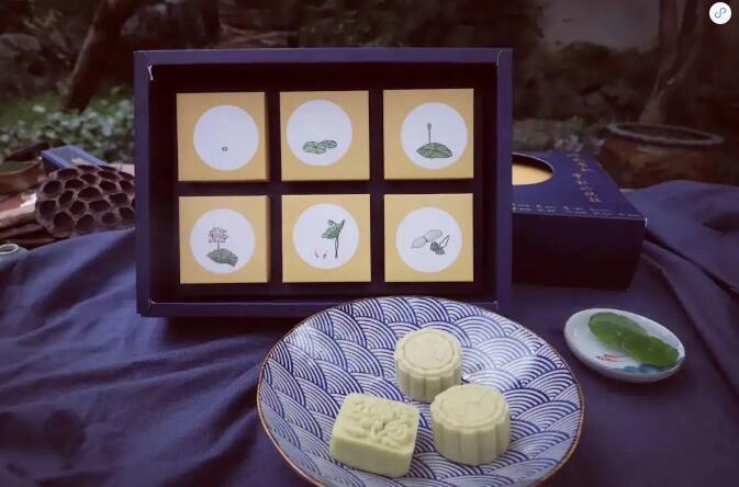 来自南少林与双林寺的祝福 这款素月饼值得送给最敬重的人