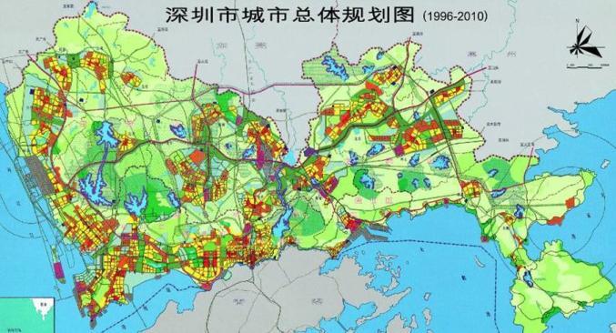 《深圳市城市��w���》(1996-2010)©深圳市城市����O�研究院