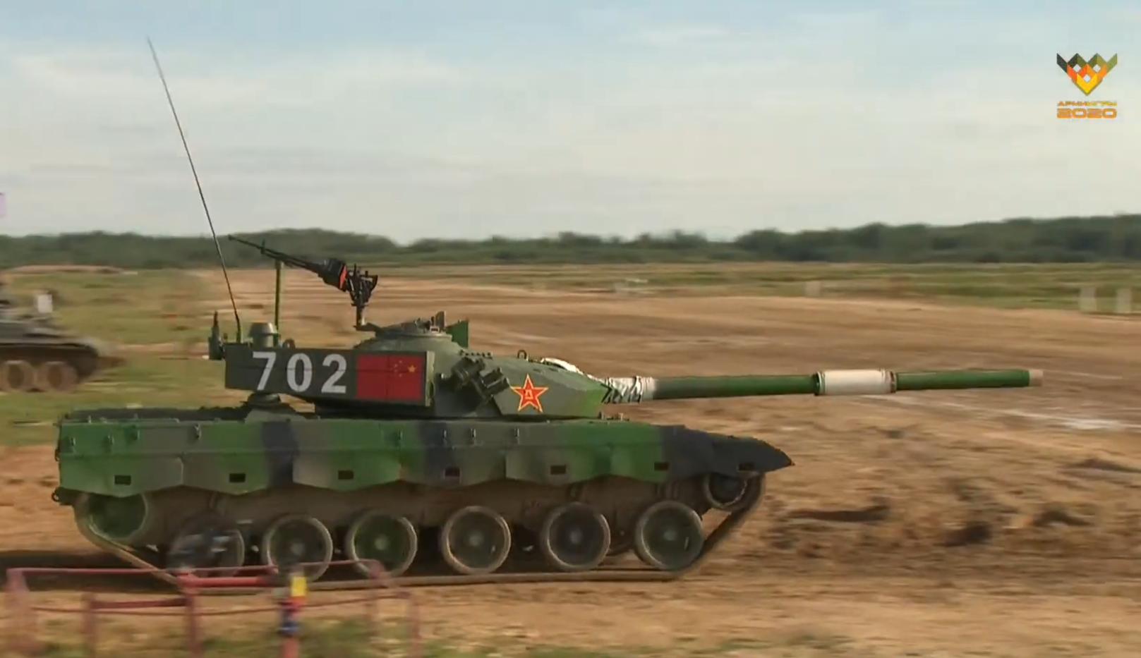 俄专家列96B坦克三大强项 功重比与最新版T-72B3相当