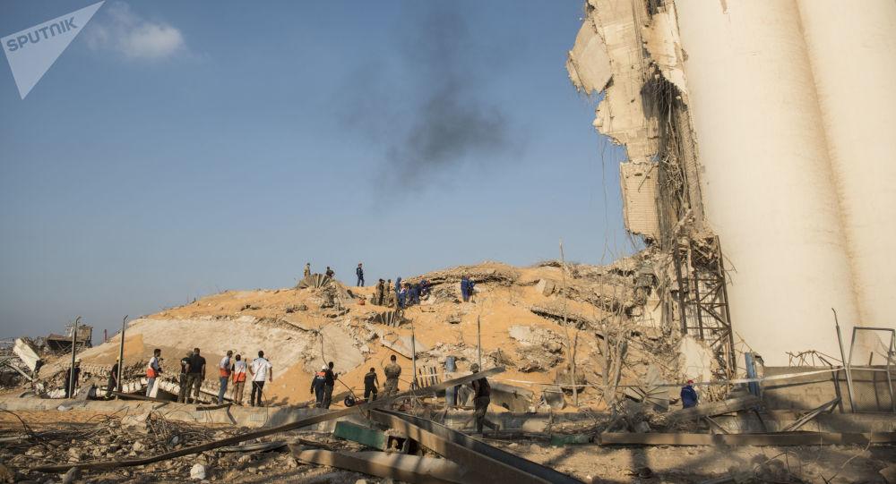 【高质量外链】_危险!黎巴嫩贝鲁特大爆炸后 港口又发现79个危险品集装箱