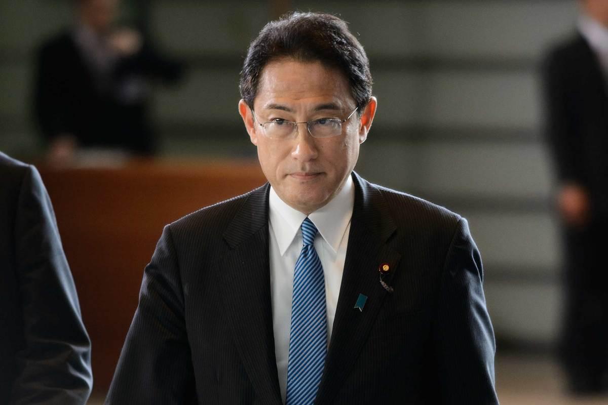 日本前外相岸田文雄正式宣布参选自民党党魁