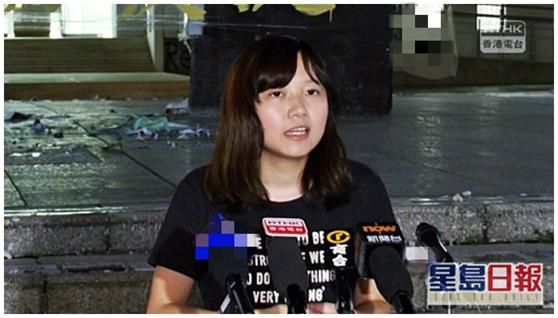 吴傲雪资料图(图片来源:香港《星岛日报》)
