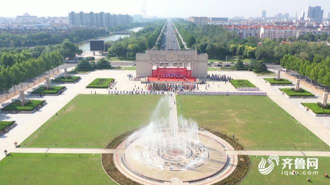 <b>山东省第20个民族团结进步宣传月运动启动仪式在东营隆重举行</b>