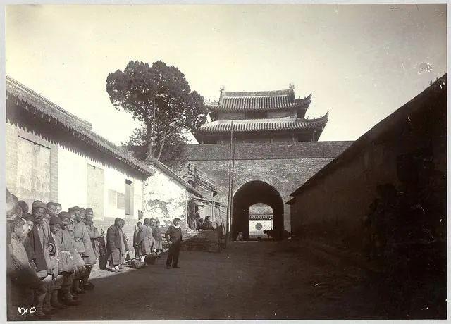 1897-1898年德国占领下的胶州 图片来源:青岛档案馆