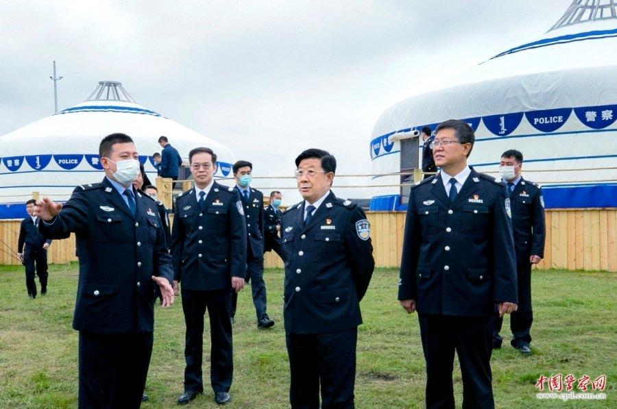 【包头楼凤验证】_公安部部长赵克志在内蒙古和宁夏调研