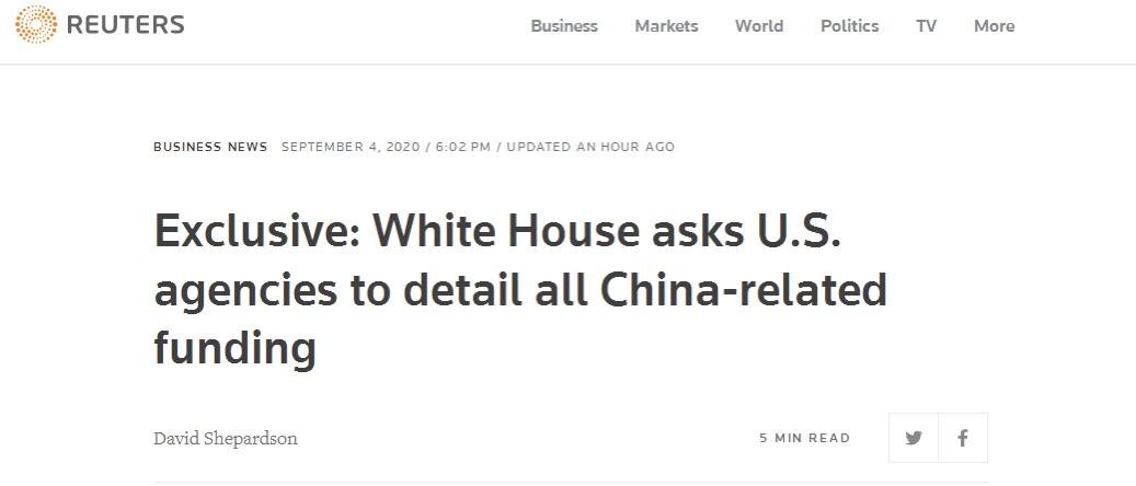 """【赶驴网事件】_""""白宫要彻查政府涉华资金"""",有内味儿了"""