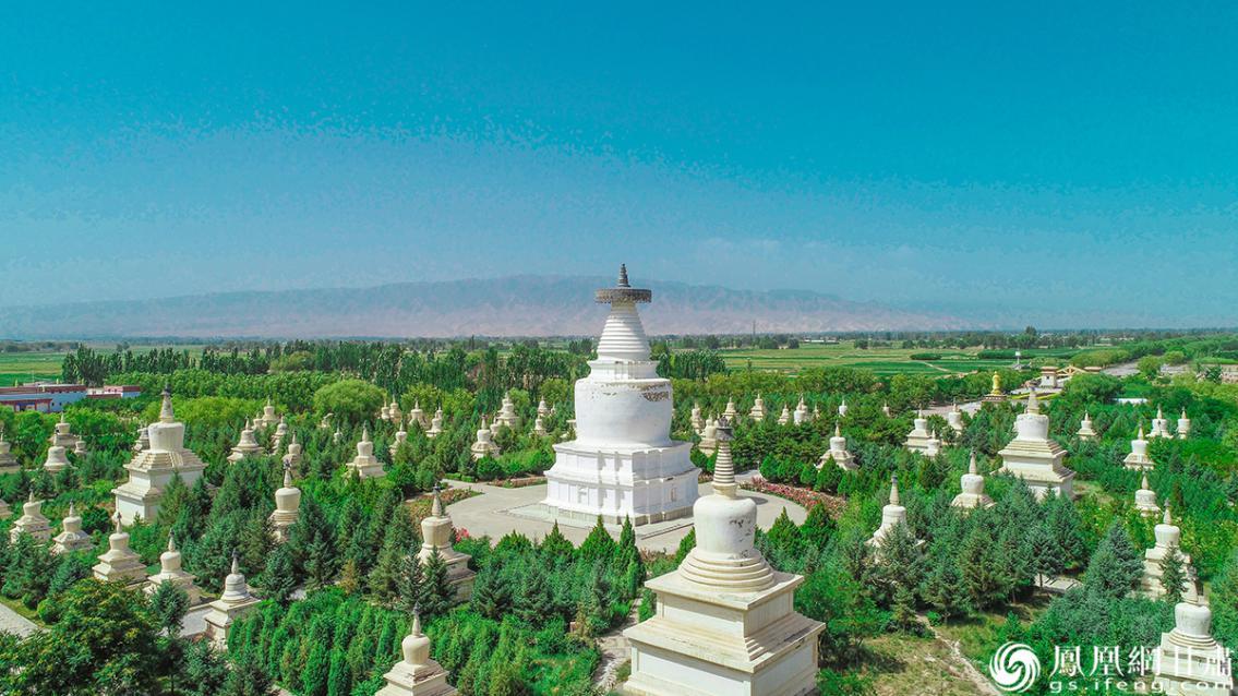 白塔寺景观 杨艺锴 摄