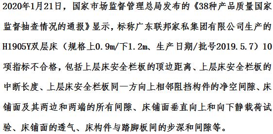 2019—2020中国家居十大质量黑榜:林氏木业联邦家私上榜