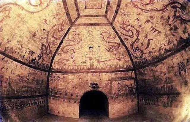 五凉绘画:佛窟壁画与墓室画像砖
