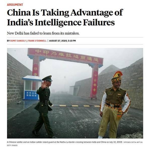 【兰州楼凤验证】_印军为何在中印冲突中屡战屡败?美媒:情报不灵是关键