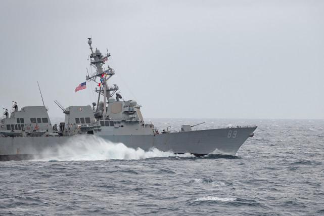 【雅虎排名】_今年第9次!台防务部门称美军驱逐舰穿越台湾海峡