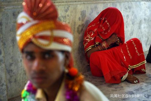 """【柳焕斌】_疫情持续,印度童婚激增:父母迫于生计""""卖""""女儿"""