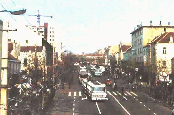 胶州街景 图片来源:青岛档案馆